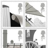 RSA postage stamps